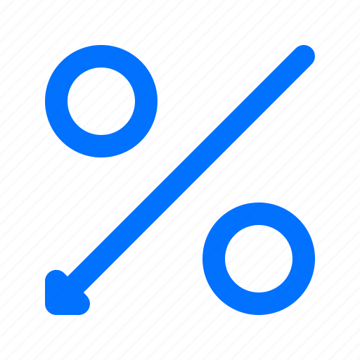 finance, percentage, sale icon