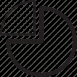 business, chart, percentage, pie, presentation icon