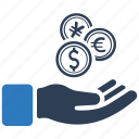 coin, finance, income, money, revenue icon