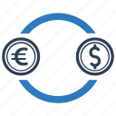 conversion, currency, earnings, exchange, income, money icon