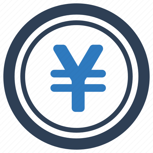 currency, finance, money, yen coin icon
