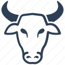 banking, bull, finance, market, stock icon