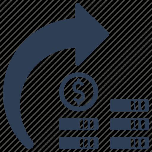 Cash transfer, exchange, money, transfer icon - Download on Iconfinder