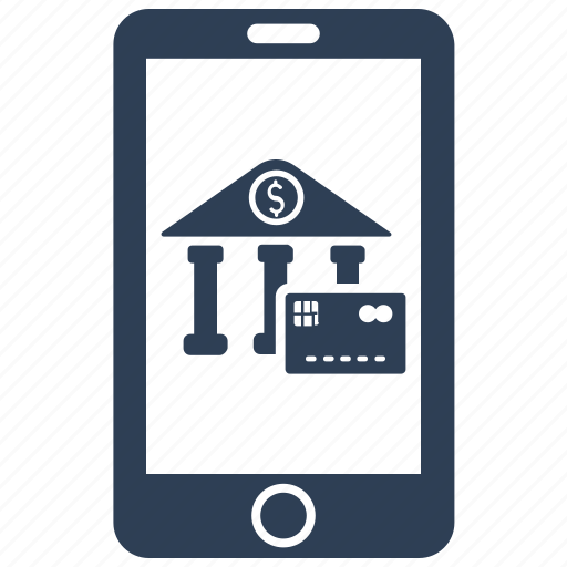 banking, fees, mobile, online payment icon