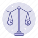 balance, business, finance, scales icon