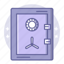 bank, box, business, finance, safe, safety icon