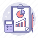 analytic, business, finance, graph, growth, report icon