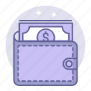business, cash, finance, wallet icon