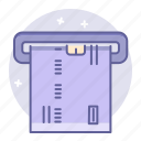 atm, business, card, finance, machine icon