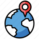 global location, gps, location, map navigation, pin location, pinpointer icon