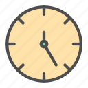business, clock, color, icon, late, ontime, time icon