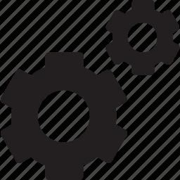 cogwheel, gear, gears, menu, options, seo and web, settings icon