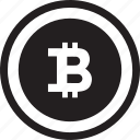 bitcoin, business, business and finance, cash, coin, currency, money icon