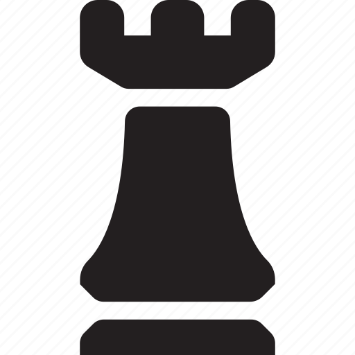 business, chess, chess piece, rook, seo and web, sports and competition, strategy icon