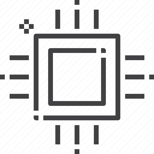 chip, chipset, cpu, microchip, processor icon