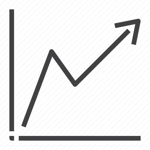 business, chart, graph, growth, statistics icon