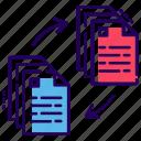 content sharing, data share, file sharing, file transfer, folder sharing icon