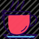 beverage, coffee, drink, hot tea, refreshment, tea, teacup icon