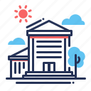building, company, office, work icon