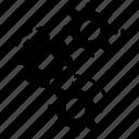 cogwheels, configuration, gears, maintenance, settings, tool icon