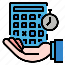 business, calendar, date, deadline, time icon