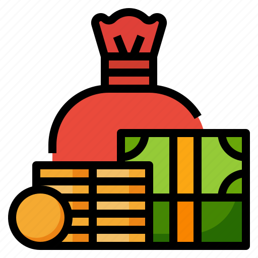 business, cash, money, notes, stack icon