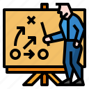 analysis, business, chess, plan, strategy icon