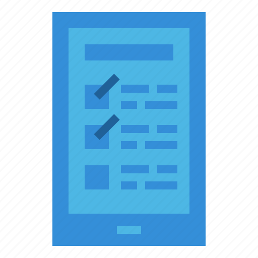 business, check, clipboard, document, files, list icon