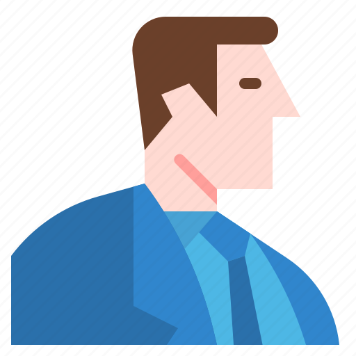 avatar, businessman, job, man, user, worker icon