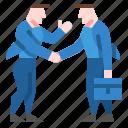 business, hand, partner, partnership, people icon