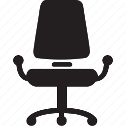 chair, comfort, comfortable, furniture and household, office chair, seat, tools and utensils icon