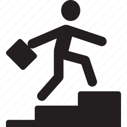 ascending, climb, humanpictos, men, people, stair, stairs icon