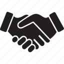 agreement, business, cooperation, gestures, hands and gestures, handshake, shake hands icon