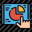 business, chart, graph, management, pie, report