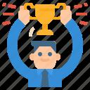 achievement, business, goal, success, trophy