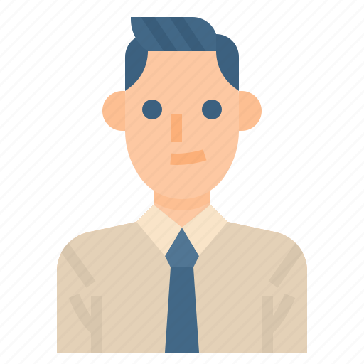 Business, businessman, employee, occupation, worker icon - Download on Iconfinder