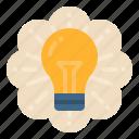 bulb, business, concept, idea, thinking