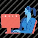 customer, support, business, operator, call, center, service