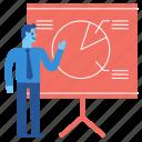 presentation, meeting, report, annual, chart