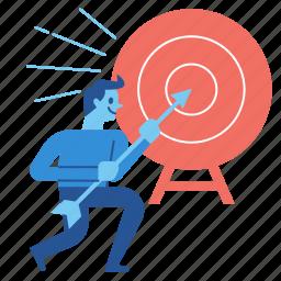 target, goal, success, business, strategy