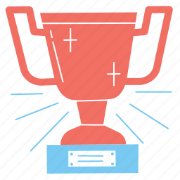 trophy, goal, success, business, strategy