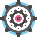cogwheel, development, engine, gear, mechanics, options, settings icon