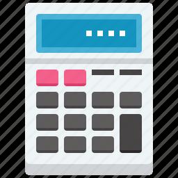 accounting, budget, calculate, calculator, finance, math, mathematics icon