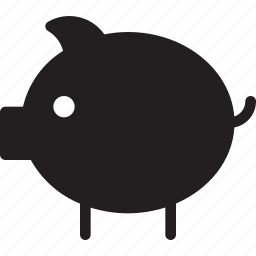 business and finance, coin, funds, money, piggy bank, save, savings icon