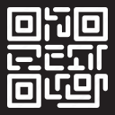 barcode, coding, shapes, smartphone icon