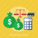banking, business, calculator, credit card, finance, money icon