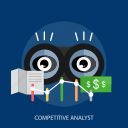 business, competitive analyst, finance, money icon
