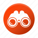 binocular, glass, telescope, zoom icon
