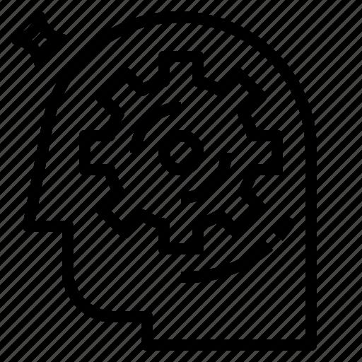 brain, process icon