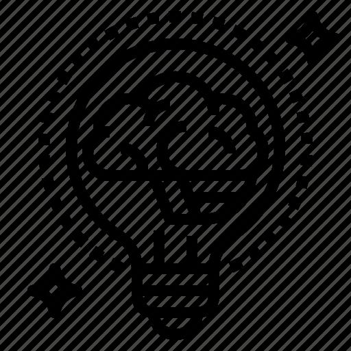brain, idea icon